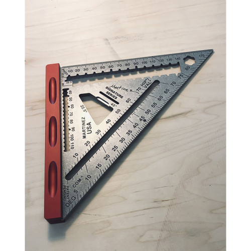 Martinez MTZ-4296 Titanium Red Headed Step Child Rapid Square - Metric/Millimeter
