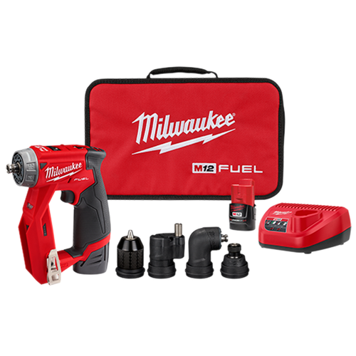 Milwaukee 2505-22 M12 Fuel Installation Drill/Driver 2x CP2.0 Kit