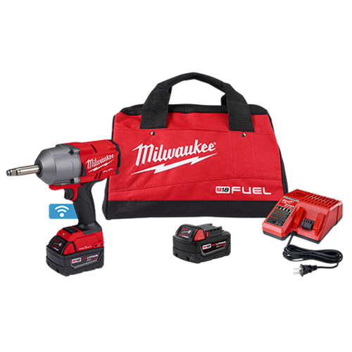 Milwaukee 2769-22 M18 Fuel 1/2In Ext. Anvil Controlled Torque Impact Wrench w/ ONE-KEY 2x XC5.0Ah Kit