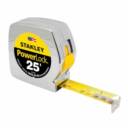 Stanley Hand Tools 33-425 25 ft. Powerlock Tape Measure