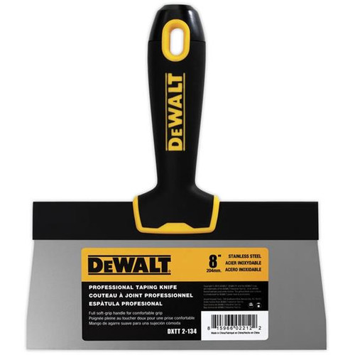 Dewalt DEW-2-13x Taping Knives Stainless Steel, Soft-Grip Handle