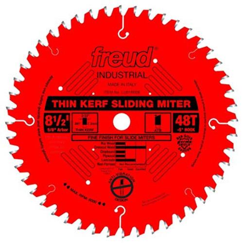 Freud FRE-LU91R008 8.5X48T Thin Kerf Sliding Compound Miter Saw Blade