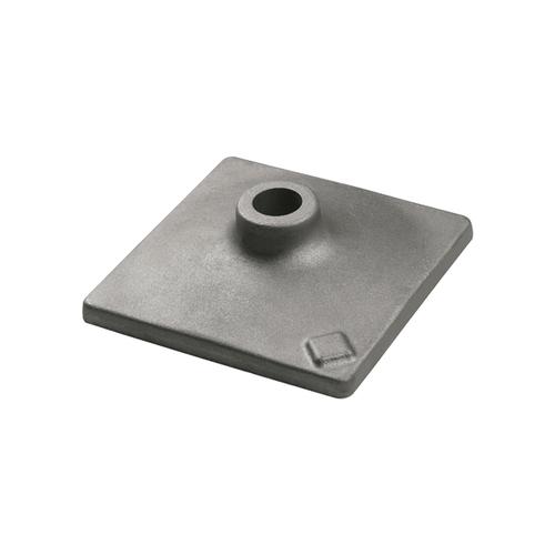 Bosch HS2124 6 In. x 6 In. Tamper Plate 1-1/8 In. Hex Hammer Steel
