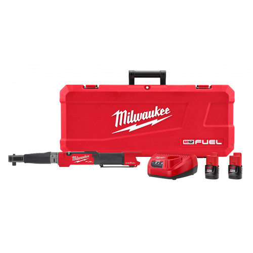 "Milwaukee 2466-22 M12 Fuel 1/2"" Digital Torque Wrench with ONE-KEY Kit"