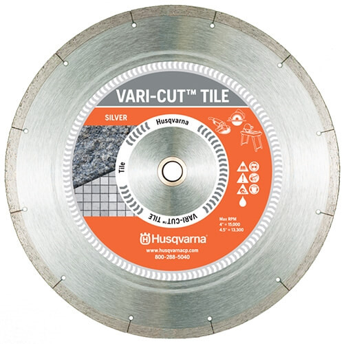 Husqvarna HUSQ-542761458 4.5 Varicut Tile Blade