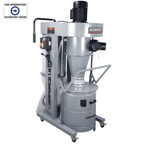 King Canada KC-8150C 1.5Hp Cyclone Dust Collector
