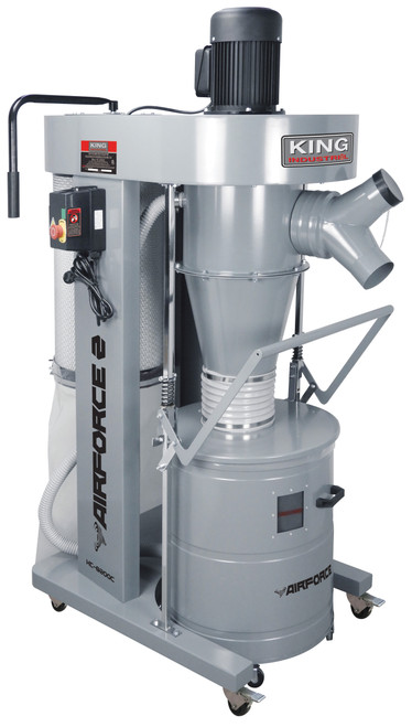 King Canada KC-8200C 2HP Cyclone Dust Collector