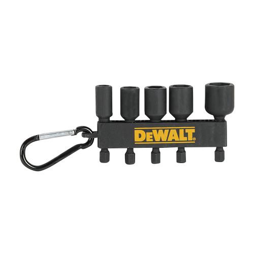 """Dewalt DWA178MXNDIRCAR 2"""" Impact Ready Bit Mix 5pk"""