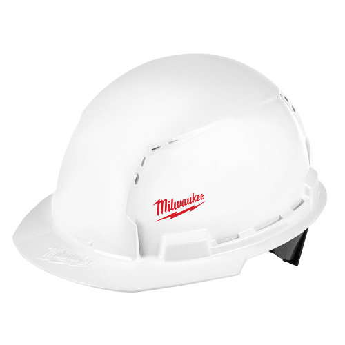Milwaukee 48-73-1000 Front Brim Hard Hat with BOLT Accessories