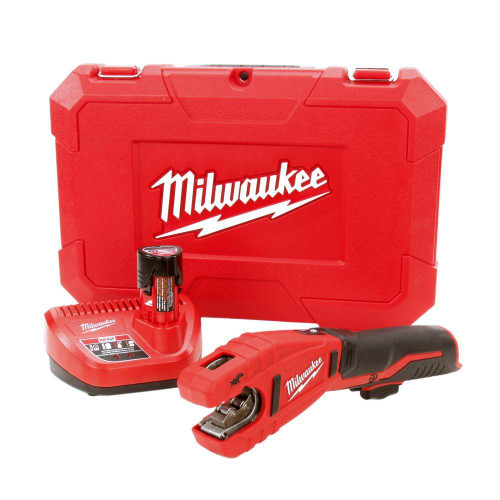 Milwaukee 2471-21 M12 Cordless Lithium-Ion Copper Tubing Cutter Kit with One 12 V Battery