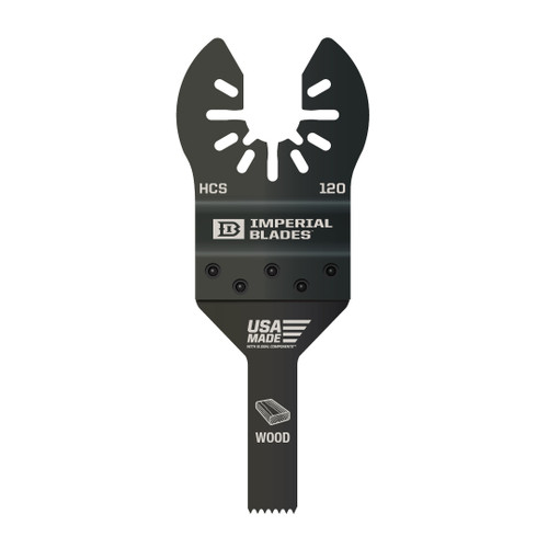 """mperial Blades IMP-IBOA120-1 One Fit 3/8"""" Fine Detail Wood Blade"""