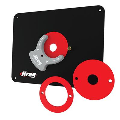 Kreg Tool KREG-PRS4038 Precision Router Table Insert Plate - Undrilled