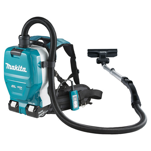 Makita DVC261TX11 18Vx2 LXT Cordless Backpack Vacuum Cleaner (2.0 L)