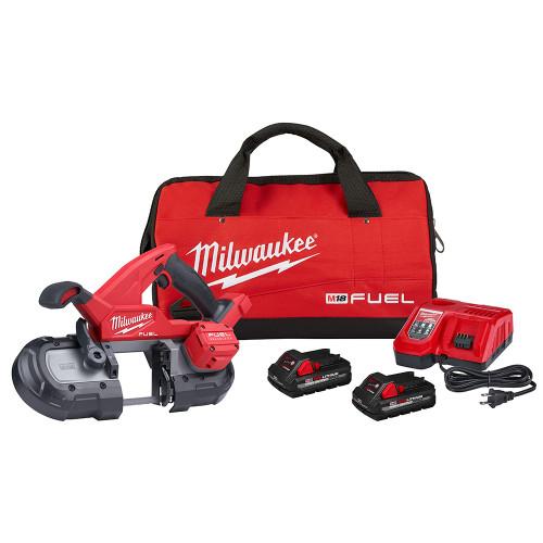 Milwaukee 2829-22 M18 FUEL Compact Band Saw Kit