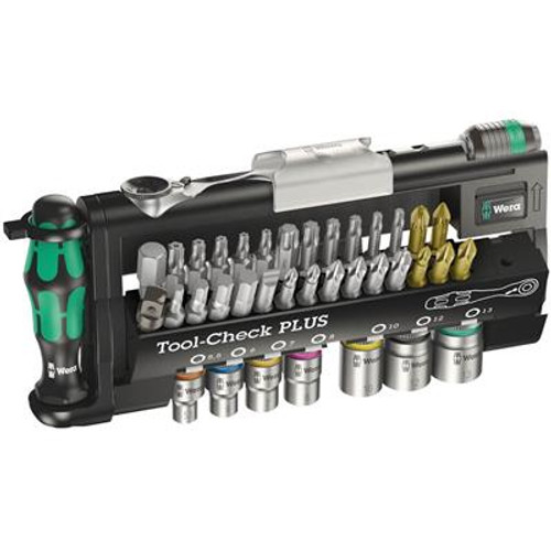 Wera Tools WERA-05056491001 Tool-Check PLUS, 39 pieces, Imperial