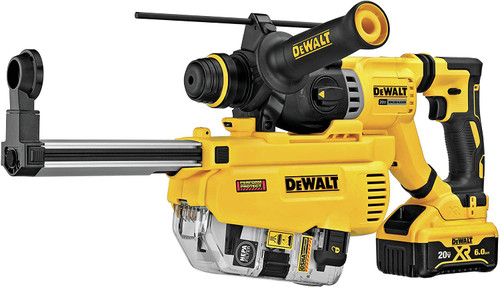 DeWALT DCH263R2DH 20V Max XR Brushless 1-1/8 In. SDS Plus D-Handle Rotary Hammer Kit