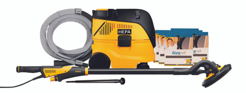Mirka Abrasives MIR-MCA-LEROSDENET LEROS 9in Drywall Sander/Dust Extractor Combo Kit