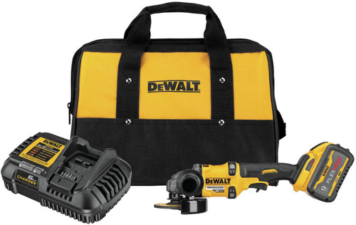Dewalt DCG418X1 Flexvolt 60V MAX Brushless 4-1/2 In. - 6 In. Cordless Grinder With Kickback Brake Kit