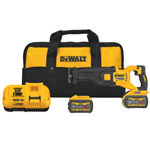 Dewalt DCS389X2 Flexvolt 60V MAX Brushless Cordless Reciprocating Saw Kit
