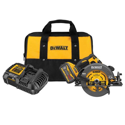 Dewalt DCS578X1 GEN 2 Flexvolt 60V MAX Brushless 7-1/4 In. Cordless Circular Saw With Brake Kit