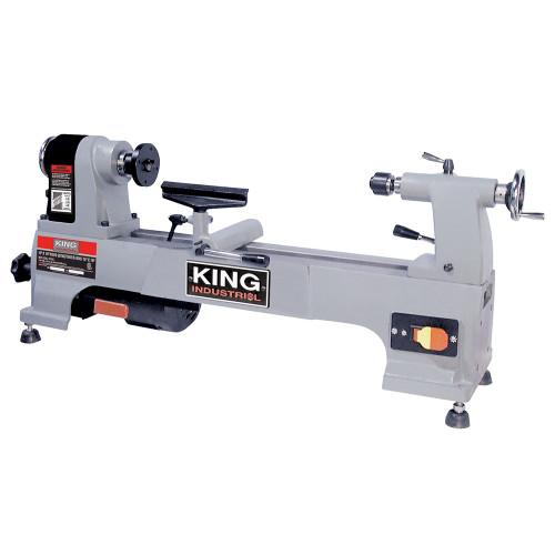 """King Canada KWL-1016C 10"""" X 16"""" Wood Lathe"""