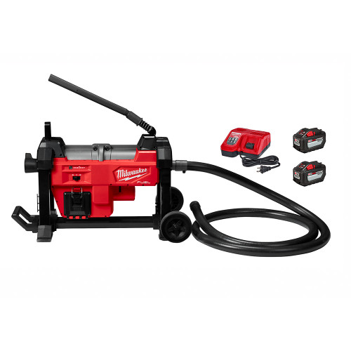 """Milwaukee 2871-22 M18 FUEL Sewer Sectional Machine w/ CABLE DRIVE for 7/8"""" and 1-1/4"""" Cable"""