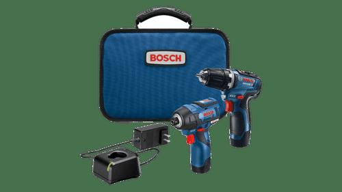Bosch GXL12V-220B22 12V Drill/Driver Combo Kit With (2) 2.0 Ah Batteries