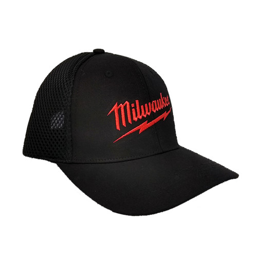 Milwaukee HAT-MIL-O/S Black Mesh Hat