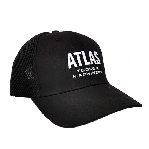 Atlas HAT-ATL-O/S Black Mesh Hat