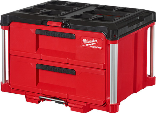 Milwaukee MIL-48-22-8442 PACKOUT 2-Drawer Tool Box