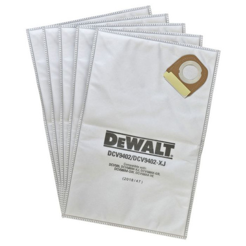 DeWALT DCV9402 Fleece Bags 5Pack /DCV585