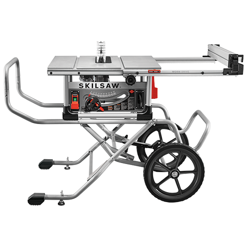 Skilsaw SPT99-11 10 IN. Heavy Duty Worm Drive Table Saw With Stand