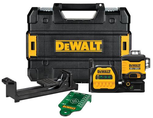 DeWALT DCLE34030GB 20V MAX 3x 360 Green Line Laser Bare Tool