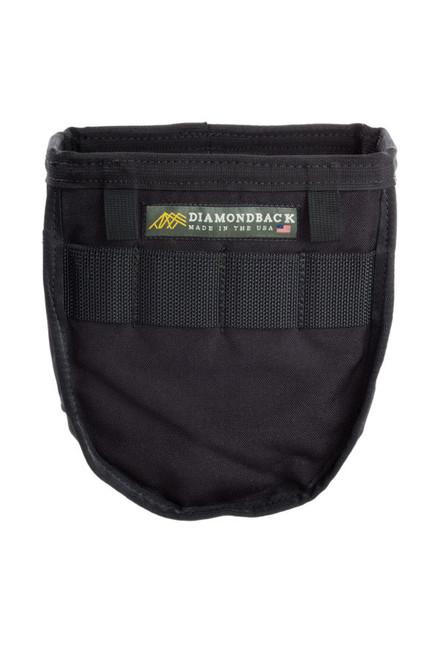 DiamondBack ToolBelts DBT-DB4-15-BK-X-X Bolt/Fitting Bag - Black