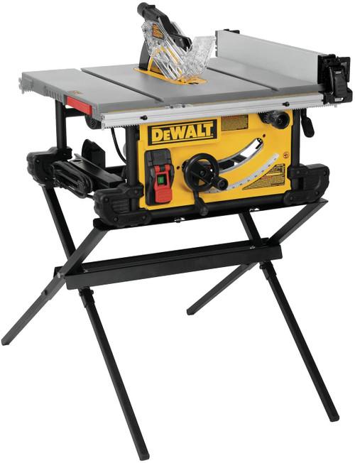 DeWALT DEW-DWE7491X  10 in. Table Saw with Scissor Stand