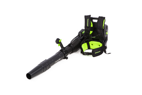 Greenworks Tools GREEN-GBB700 82V Brushless Dual Port Backpack Blower 160MPH Bare Tool