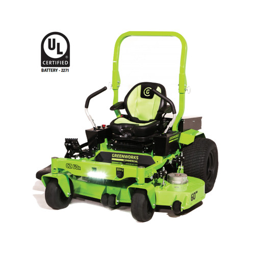 Greenworks Commercial GREEN-CZ60R 82V 60In Commercial Ride-On Zero-Turn Mower