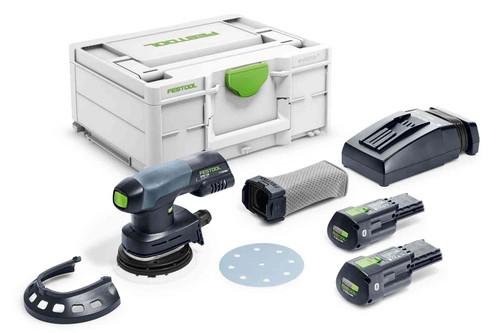 Festool FES-576378 Cordless Eccentric Sander ETSC 125 3,1 I-Plus