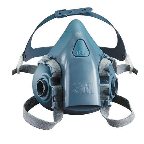 3M 3M-750X Silicone Respirator Half Facepiece