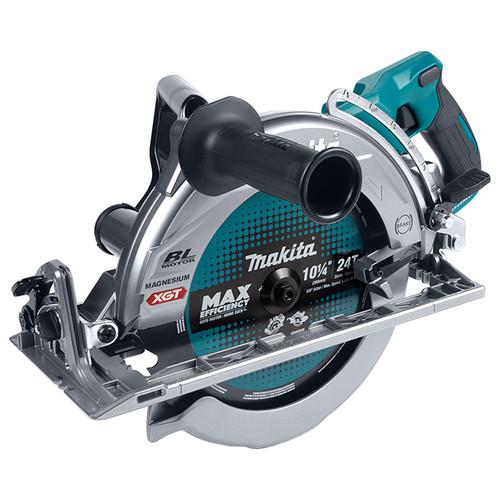 """Makita MAK-RS002GZ 40V MAX XGT Li-Ion 10-1/4"""" Rear-Handle Circular Saw with Brushless Motor & AWS"""