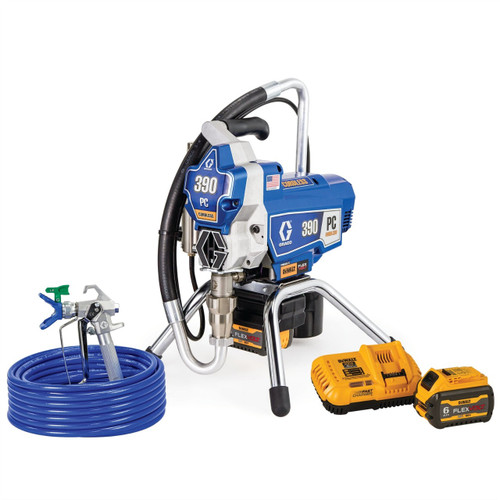 Graco GRAC-25T804 390 PC Cordless Airless Sprayer, Stand