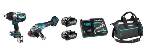 Makita MAK-DK0139G203 40V MAX XGT Li-Ion 2 Tool Combo 2x 4.0Ah Kit