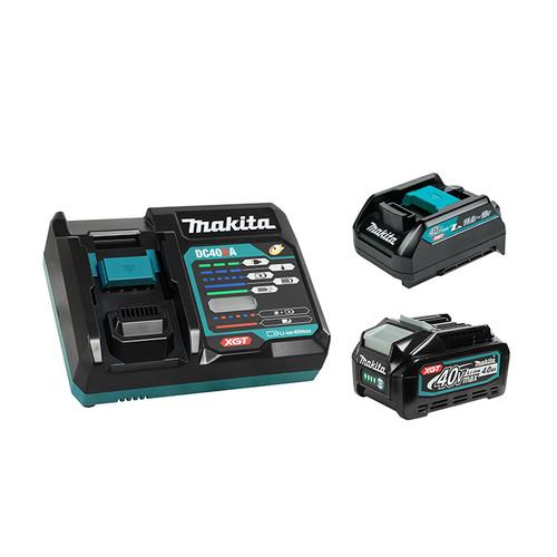 Makita MAK-T-04064 40V MAX XGT Li-Ion 4.0 Ah Starter Kit