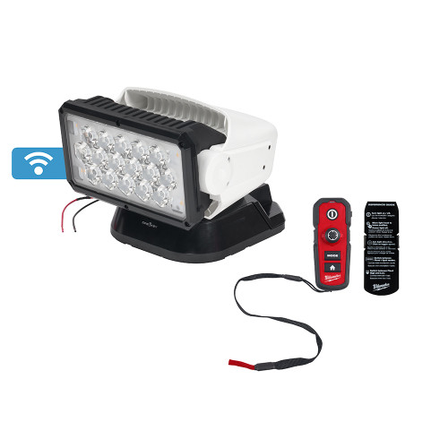 Milwaukee MIL-2123 Utility Remote Control Search Light
