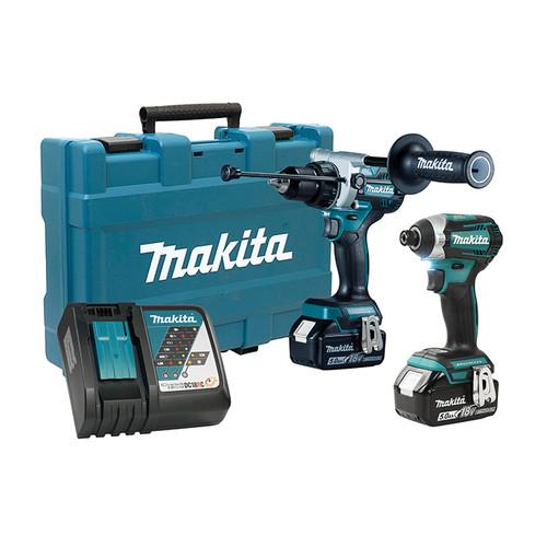 Makita MAK-DLX2412T 18V 2-Tool Hammer Drill / Driver Combo Kit