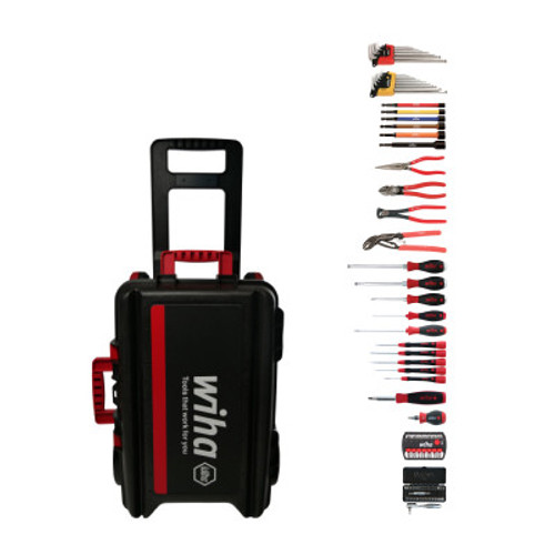 Wiha WIHA-91567 93-Piece PRO Tool Set with XXL3 Rolling Tool Case