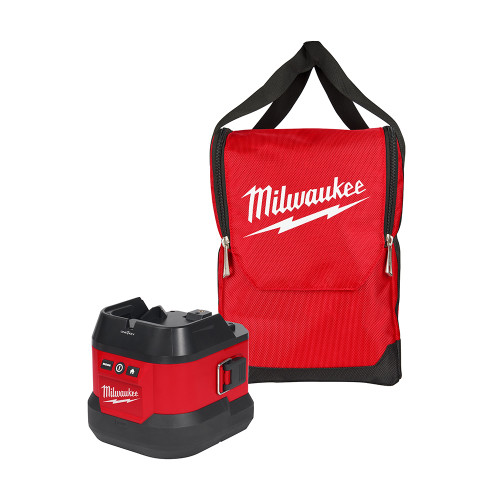 Milwaukee MIL-49-16-2123B M18 Utility Remote Control Search Light Portable Base w/ Carry Bag