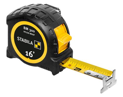 Stabila STAB-30516 Pocket Tape BM 300, 16', Imperial Scale