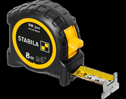 Stabila STAB-30626 Pocket Tape BM 300, 26' (8 M), Cm/Inch Scale
