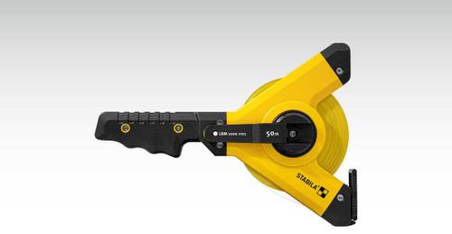 Stabila STAB-30920 Open Reel Tape LBM 1000 Steel, 50 M, Steel Blade, Metric Scale